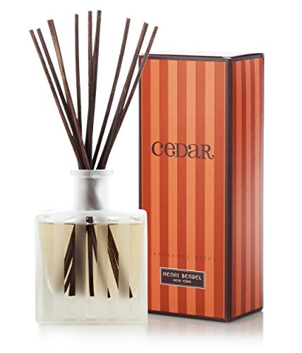 Henri Bendel Cedar Fragrance Reeds Diffuser 3.4 oz Makes a Great, Luxurious ()