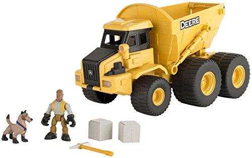 Ertl John Deere Gear Force Dump Truck Playset