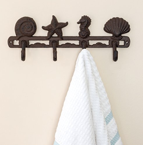 Seashell Coat Hook Hanger