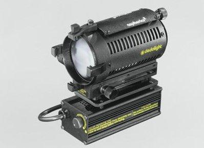 (Dedolight DLH4, AC/DC 100 Watt or 150 Watt Tungsten Light Head with Zoom Focus & Power Cable.)