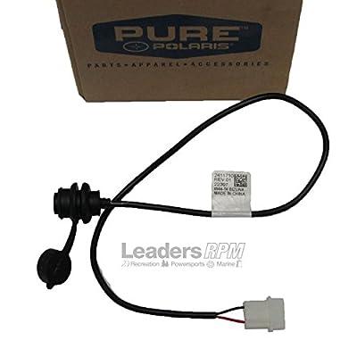 Polaris New OEM Snowmobile ASM-RCA Power Plug With Cover AC Rush Swithback Retro