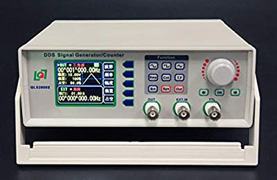 "Signal Generator Frequency Counter QLS2805S-5M 2.4"" Screen DC 5V Low Power"