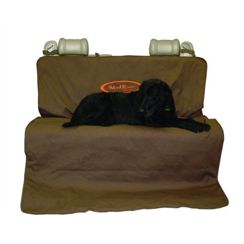 Mud River Brown Two Barrel Double Seat Cover, Brown, X-Large