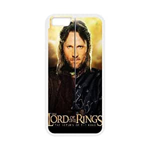 Unique Design Cases iPhone 6s Plus 5.5 Inch Cell Phone Case White aragorn the lord of the rings the return of the king movie Qiwsj Printed Cover Protector