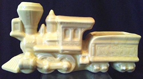 Train Planter, Vintage Train Planter, Collectible Train Engine and Car Planter 10
