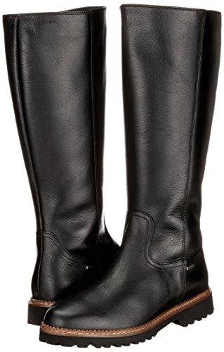 tex 000 schwarz Women's Black Velvina Boots wf Sioux qFAB6nU