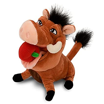 Disney Lion King Exclusive 8 Inch Plush Figure Pumba with Apple ...