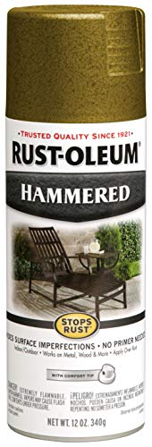Rust-Oleum 7210830 7210-830 Spray Paint, Each, Gold ()