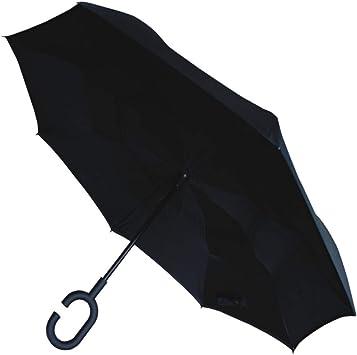 COLLAR AND CUFFS LONDON - Paraguas Invertido - A Prueba DE Viento ...