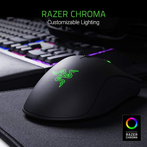 Razer DeathAdder Elite 16,000 DPI 5G Optical Sensor - Mechanical Mouse Switches (Up to 50 Million Clicks) - Ergonomic Form Factor Esports Performance Gaming Mouse