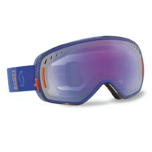 SCOTT US LCG Ski Goggles, Blue/Orange, Illuminator Lens