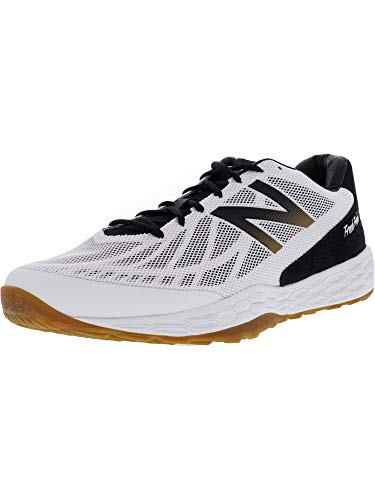 Cheap New Balance Men's Fresh Foam 80v3 Training Shoe, Black/White, 14 D US