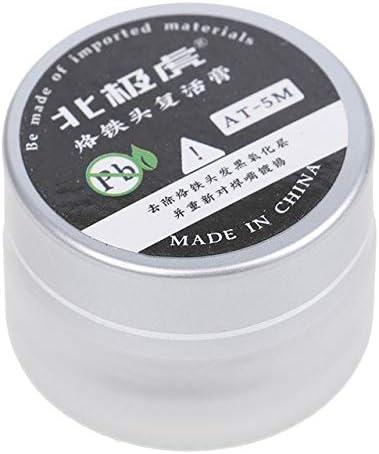 Soldering Iron Tip Refresher Clean Paste for Oxide Solder Head Resurrection