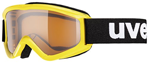 Uvex Sports Youth Speedy Pro Snow Goggles - 553819 (Yellow sl/lasergold) (Uvex Speedy Pro)