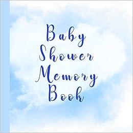 Baby Shower Memory Book Beautiful Baby Shower Memory Book Bonus
