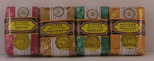 Mixed 2 65oz Bee Flower Soaps product image
