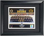 Encore Boston Bruins Champions 2011 Team Photograph in a 11x14 Deluxe Photo Frame