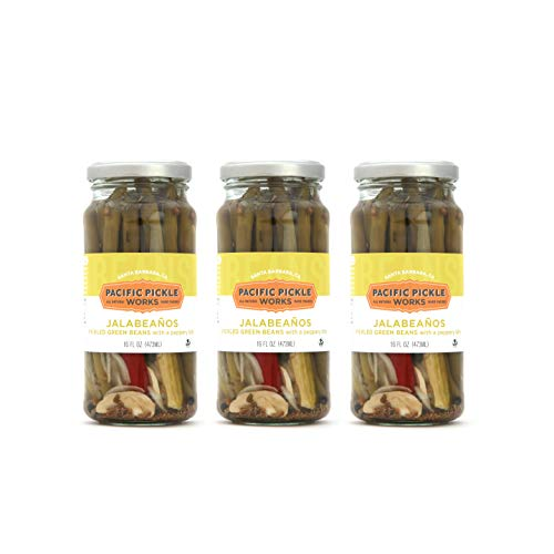 - Jalabeaños (3-pack) - Spicy pickled green beans 16oz