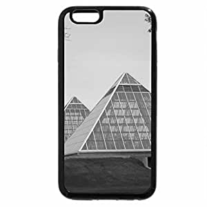 iPhone 6S Case, iPhone 6 Case (Black & White) - The botanical gardens of Edmonton AB