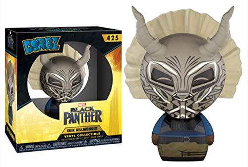 Rocket Raccoon /& Black Panther Killmonger Vinyl Set with X-Men The Beast Exclusive Marvel Doctor Bundle HWAYB Strange Black Guardians 5 Funko of The Galaxy Figure Pack Character Collectibles Dorbz Groot