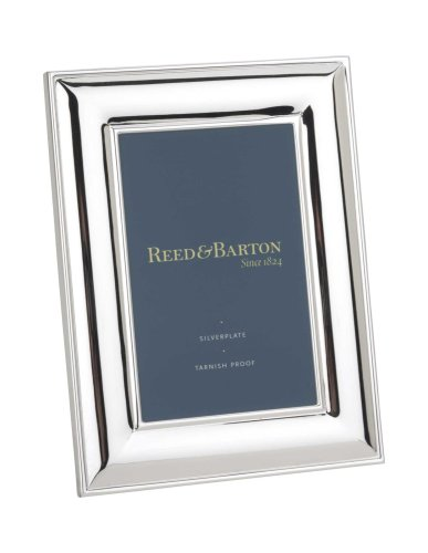 Reed & Barton Newton Tarnish-Resistant Silverplated 4 Inch by 6 Inch Picture - Barton Outlet
