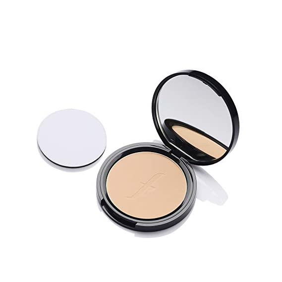 Faces Canada Weightless Stay Matte Compact Vitamin E & Shea Butter, Spf-20 Ivory 01, 9 g