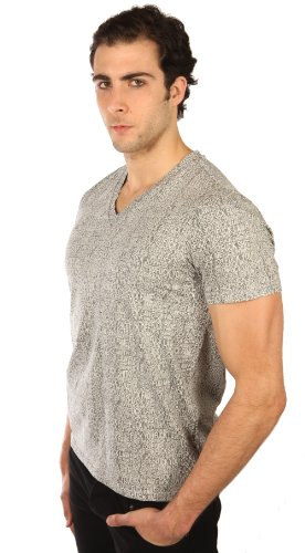 (Lip Service Rockers Mens F Everything Mens V Neck Shirt Size: Large )