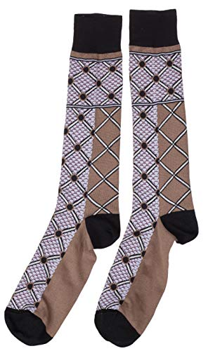Dolce & Gabbana Men's Beige Cotton Long Socks, Beige, XL - Dolce & Gabbana Mens Clothing