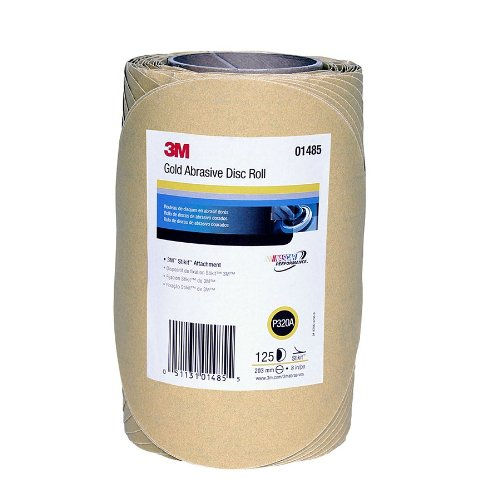 3M 01485 Stikit Gold 8'' P320A Grit Disc Roll by 3M (Image #4)