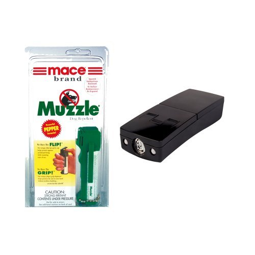 UPC 700443443579, Dog Walker Bundle: Mace Muzzle Pepper Spray and Electronic Dog Repeller - Lot of 2