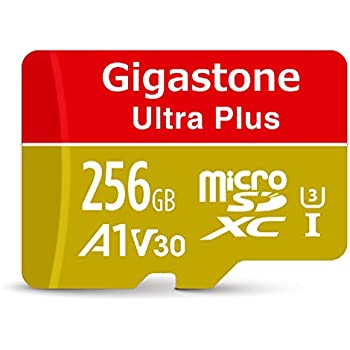 Amazon.com: Gigastone 256GB Micro SD Card with Adapter, A1 ...