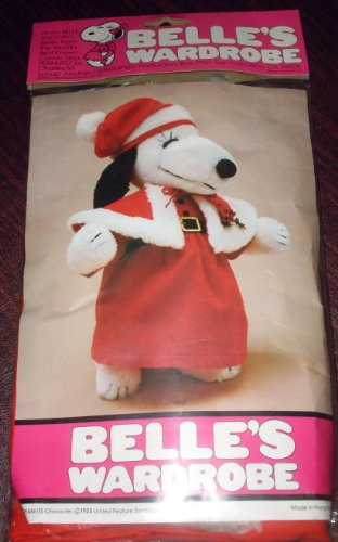 Peanuts Snoopy Sister Belle's Wardrobe for 15
