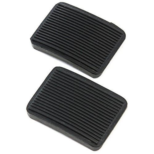 Red Hound Auto 2 Manual Transmission Brake Pedal or Clutch Pad Compatible with Ford (1984-1990 Bronco, 1983-1989 Ranger) New Black (Manual Transmission Ford Ranger)