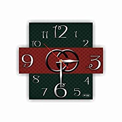 Exclusive Wall Clock Fashion House 11 inches - Unique Item for Home and Office, Original Present for Every Occasion. Made of Plastic
