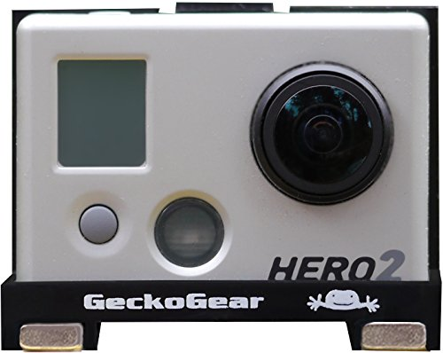 GeckoGear ABS Micro Case with Neodymium magnets for GoPro Hero, Hero 2 by GeckoGear