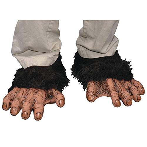 Child Chimp Halloween Costumes - Adult Chimp Feet -