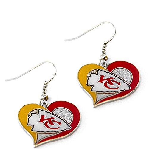 (NFL Kansas City Chiefs Swirl Heart)