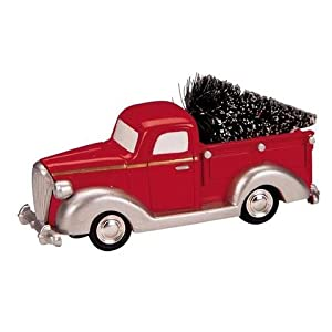 Lemax Village Collection Pick-up Truck with Tree #84837 4