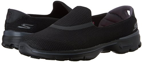 Skechers Performance Women's Go Walk 3 Slip-On Walking Shoe, Black, 7 M US by Skechers (Image #6)