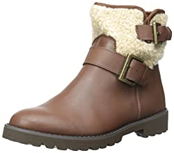 Easy Spirit Women's Brower Boot, Medium Brown, 8.5 M US