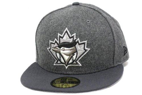 Era Flannel - New Era Unisex Toronto Blue Jays Carbon Graphite Cloud Metallic Hat 7.375 Gray Melton Flannel