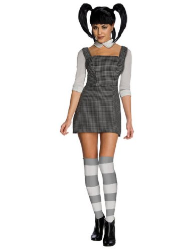 Elsa Frankenweenie Costume (Secret Wishes Frankenweenie Elsa Van Helsing Costume, Black, Small)