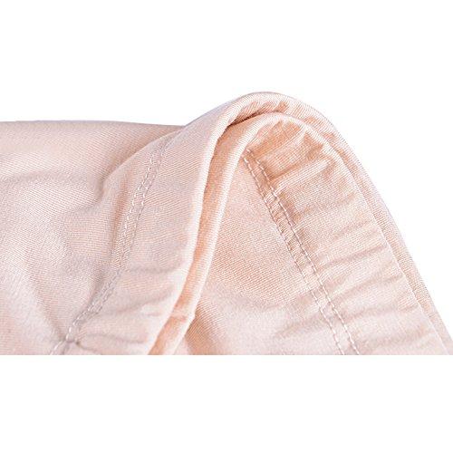 Highdas Paquete de 2 Embarazadas bajo las bragas Ajustable Cómoda cómoda Soft Over Bump Underwear Shorts Gris + Piel