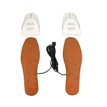 USB Heating Electric Heated Shoe Insoles Heater Winter Feet Warmer Pad Unisex