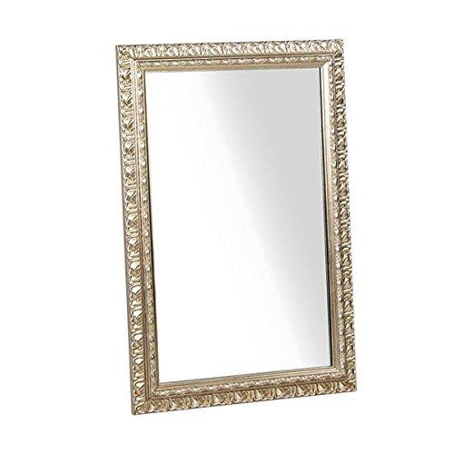 arne ウォールミラー 壁掛け 鏡 姿見 アンティーク ワイド 幅約50~60cm F-003WM4570 シャンパンゴールド B00QEY2NOC シャンパンゴールド シャンパンゴールド