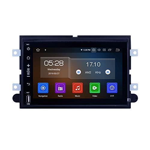 (Android 9.0 DVD GPS in Dash Radio System for Ford Mustang 2005-2009 with 3G WiFi Bluetooth Mirror Link OBD2 Rearview Camera (4-Core,2G+16G))