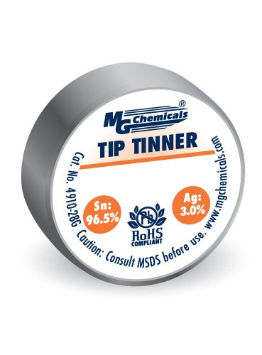 MG Chemicals SAC305 Lead Free Tip Tinner, (28g) 1 oz container, No Clean Formulation (Tips Formation)