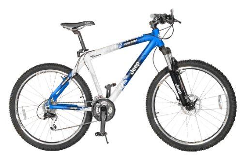 Jeep Rengade 21 Men S Hard Tail Mountain Bike Blue Silver 18