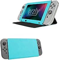 Orzly Funda Tapa y Soporte para la Nintendo Switch, Carcasa Azul Multifuncional para la Nintendo Switch con Soporte Integrado y Tapa Protectora para la Pantalla de la Nintendo Switch: Amazon.es: Electrónica