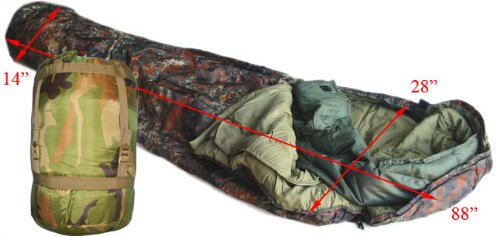 Us Army Style Modular Sleeping Bag System--woodland by Generic B0023XVORU